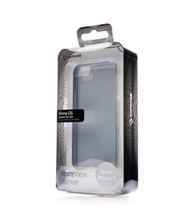 Capdase Karapace Jacket Fine DS iPhone 5 clear black